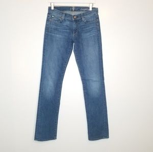 7 for all Mankind Long Straight Leg Jeans